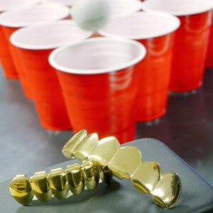 grillz and beer pong