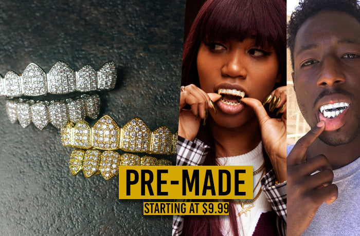 Custom Gold Grillz - Shop at the  1 Gold Teeth Jeweler TODAY! 28d8598a54
