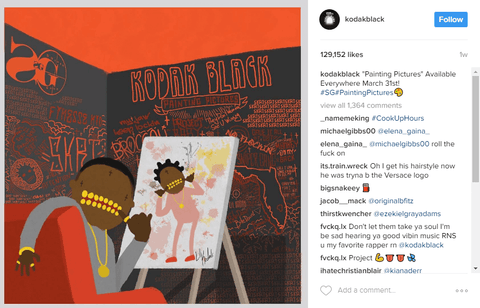 Painting Pictures by kodakblack