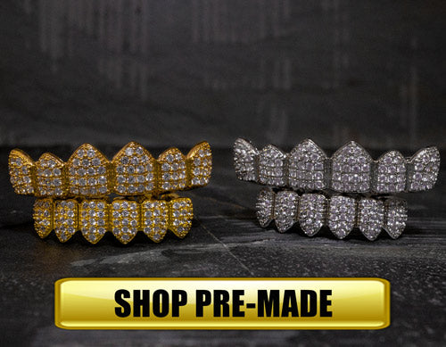 Shop Pre-Made Grillz