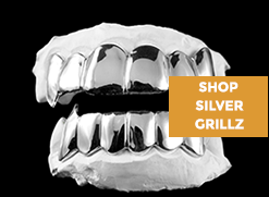 Check out our hottest silver grillz styles that fit ANY budget!