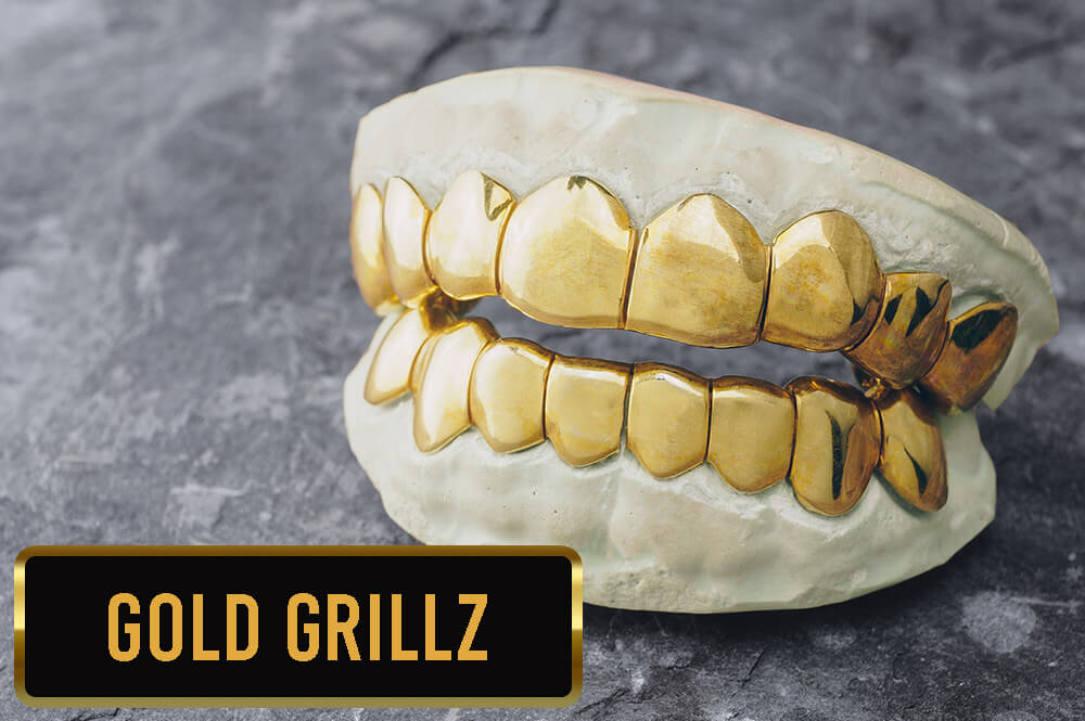 Gold Grillz Collection from Custom Gold Grillz