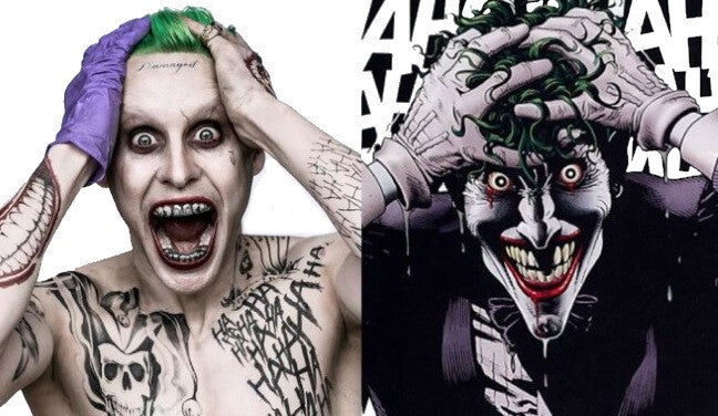 Jared Leto Playing Joker Comic Book Character