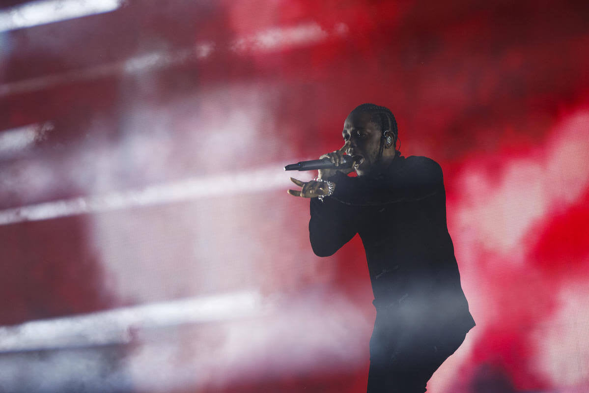 Kendrick Lamar closed out the festival