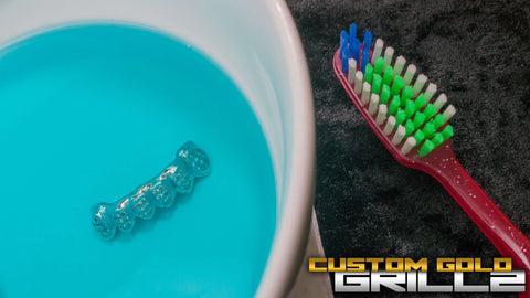 How To Clean Your Solid Gold Grillz