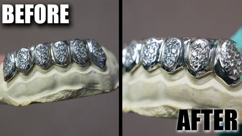 How To Clean Your Solid Gold Grillz - With Video