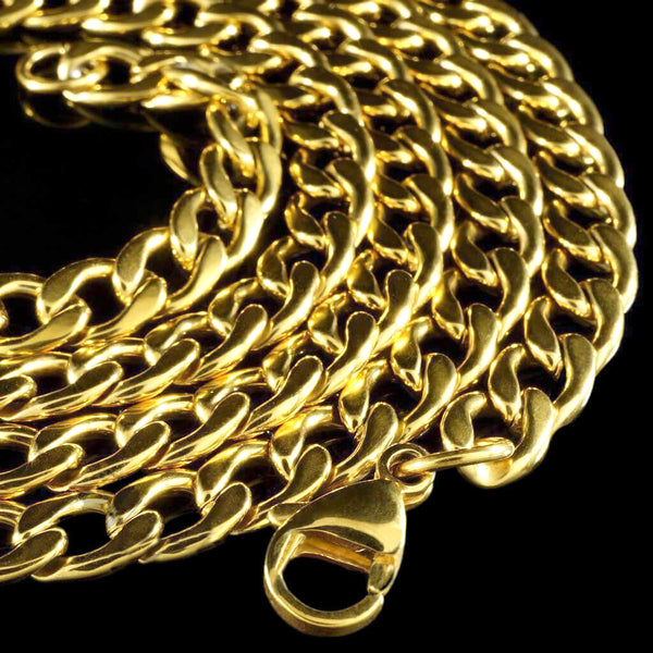Miami Cuban Link Chain in Yellow Gold
