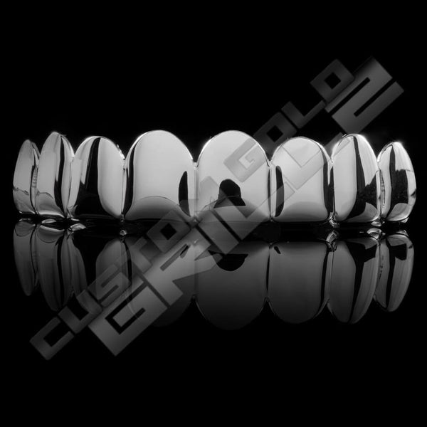 As seen on your favorite rappers, our Silver Joker Grill Fake Costume Teeth Top won't break the bank. Our customers love our products, find out why. Click Here!