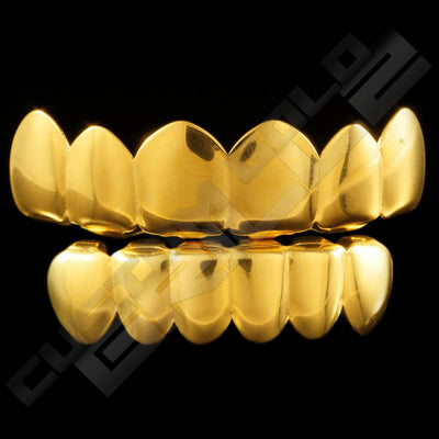 Gold Plated 6 Tooth Premium Grillz Instantly-Made Main