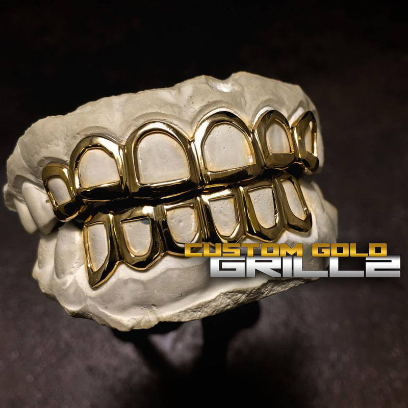 Shop at Custom Gold Grillz - The #1 Store for Gold Teeth Online!