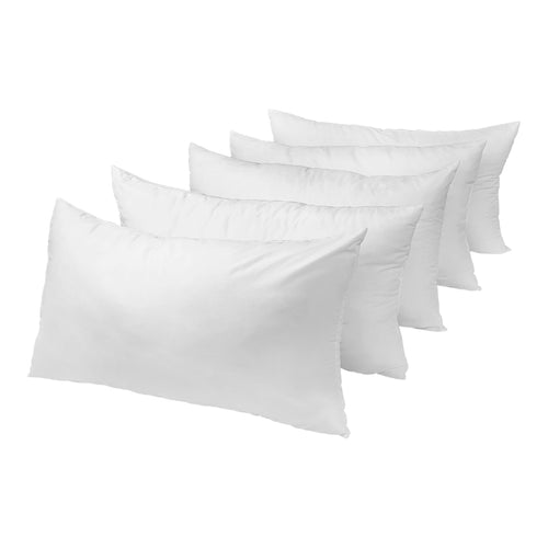 Set of 5 King/Queen-Size Bed Pillows