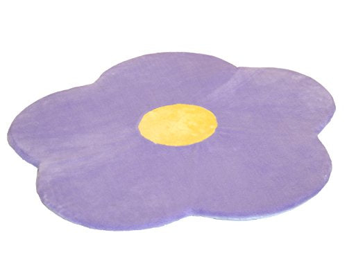 Purple Daisy Rug