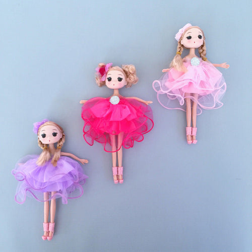 Two Pink Doll Set with Accessories