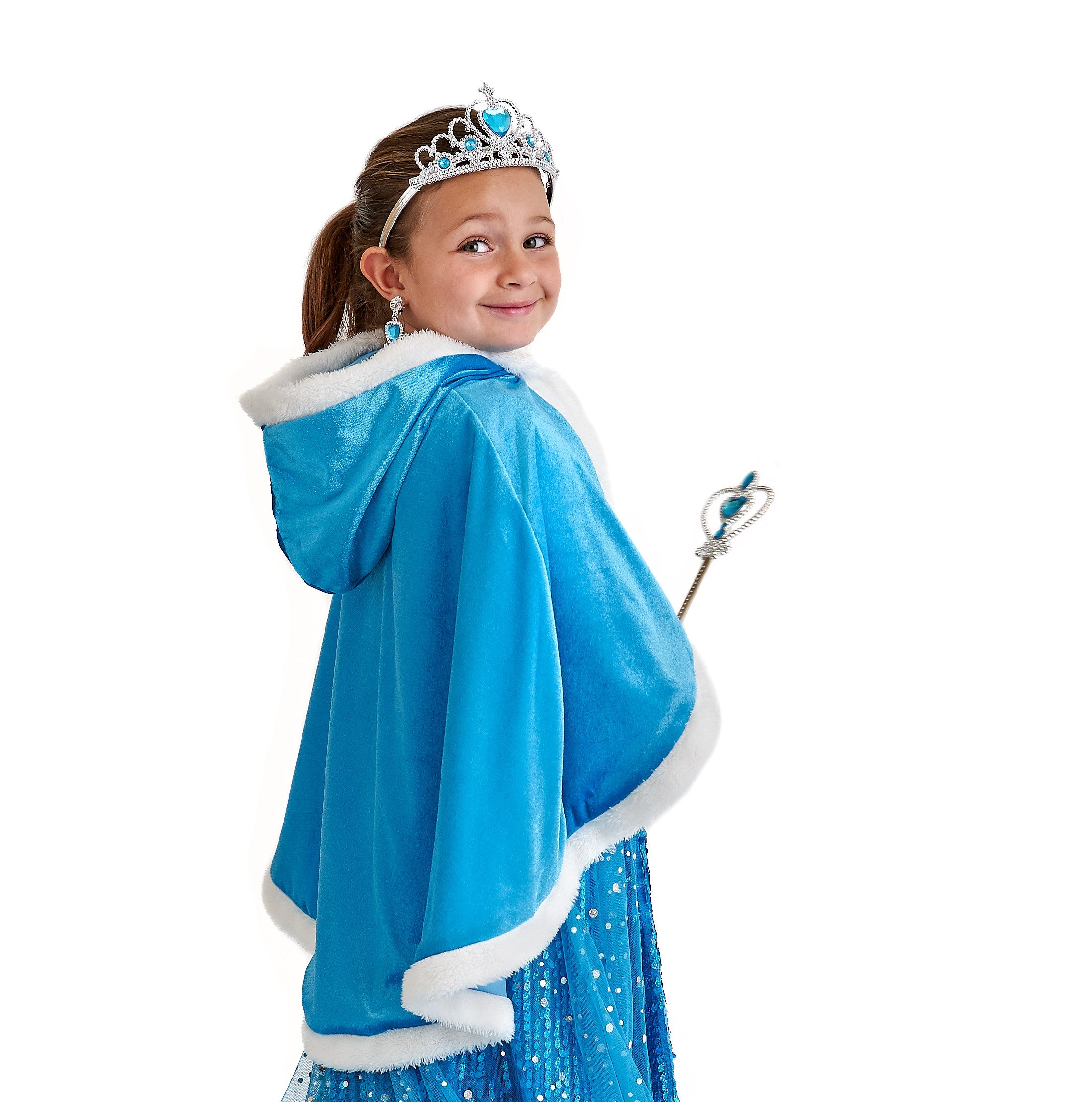Elsa Princess Cape