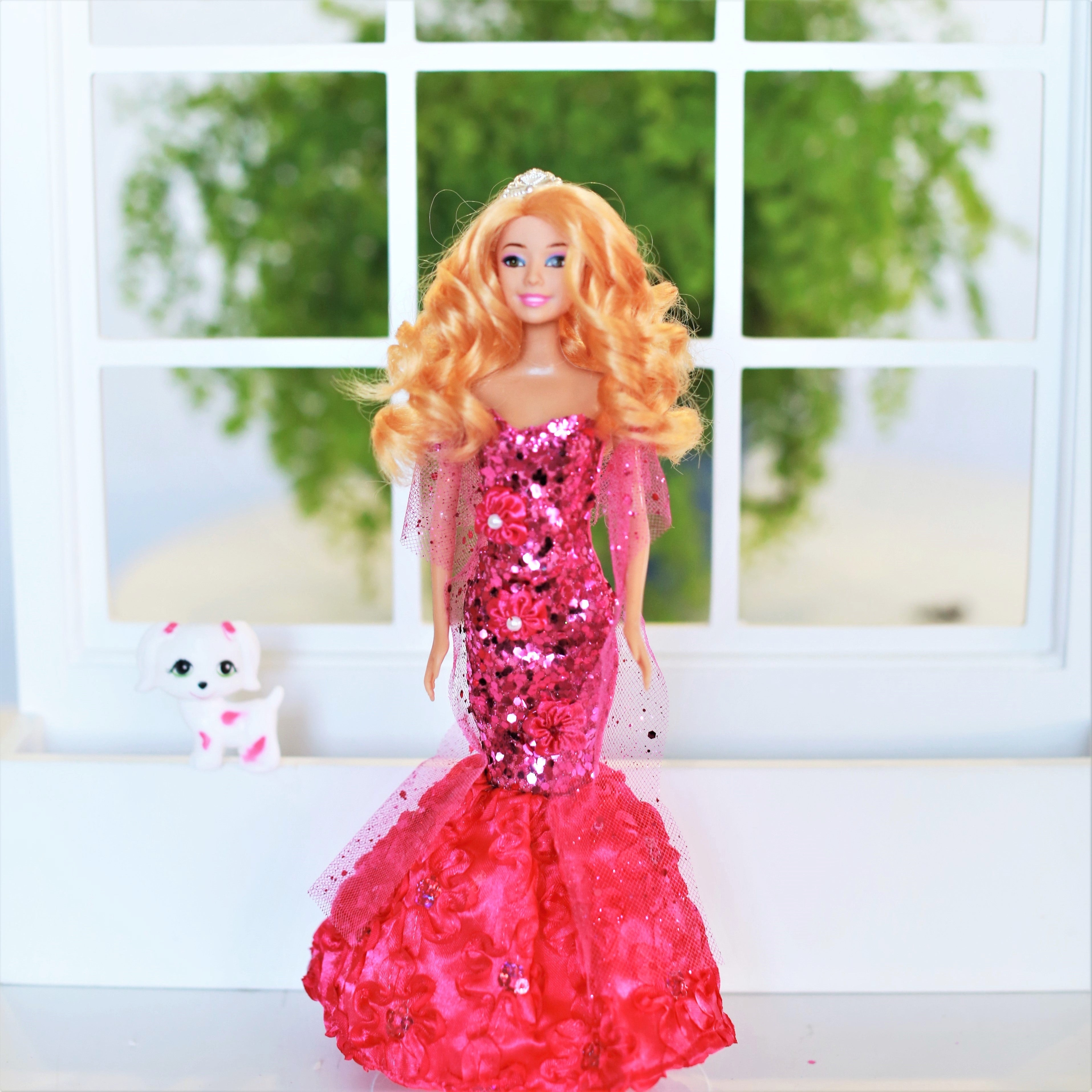 Mermaid Princess Doll & Accessories for Girls