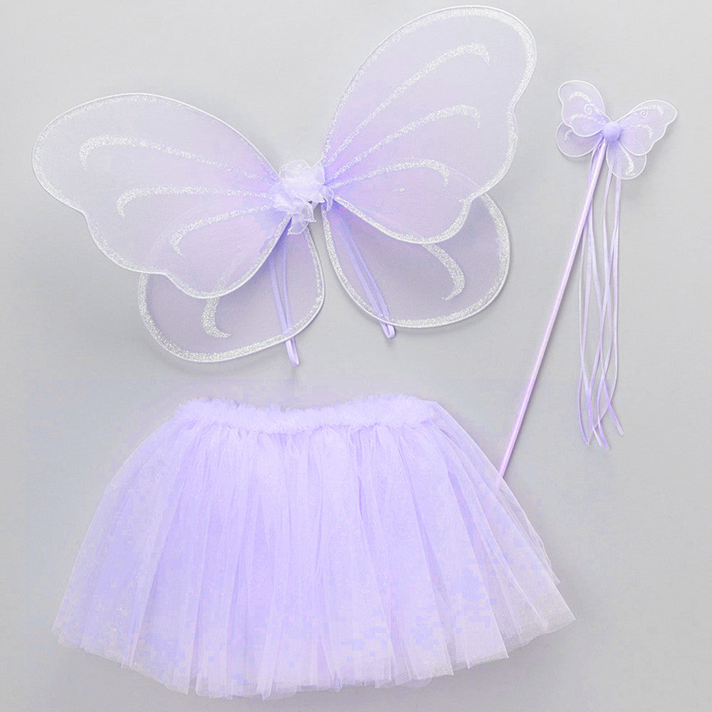 Heart to Heart Fairy Tutu Set Butterfly Wing Wand