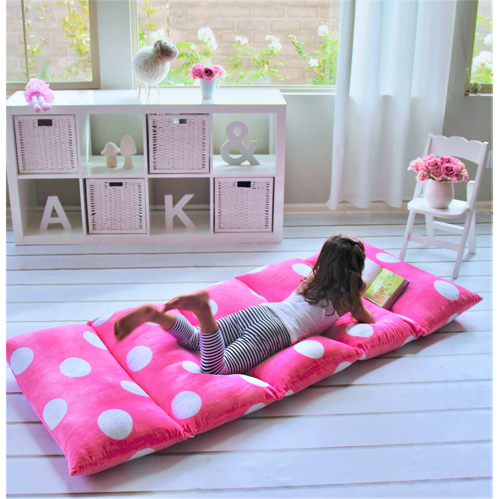 Hot Pink Girls' Pillow Bed Cover