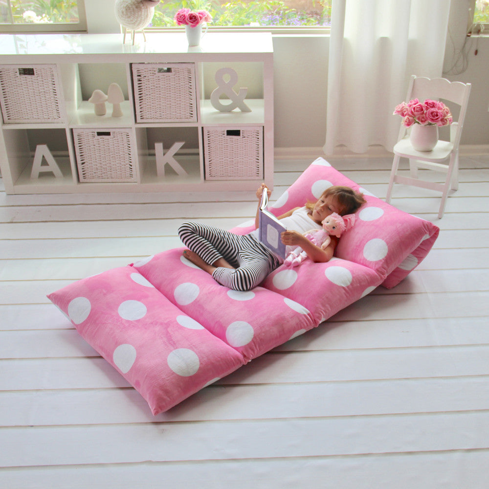Light Pink Girls' Pillow Bed Cover