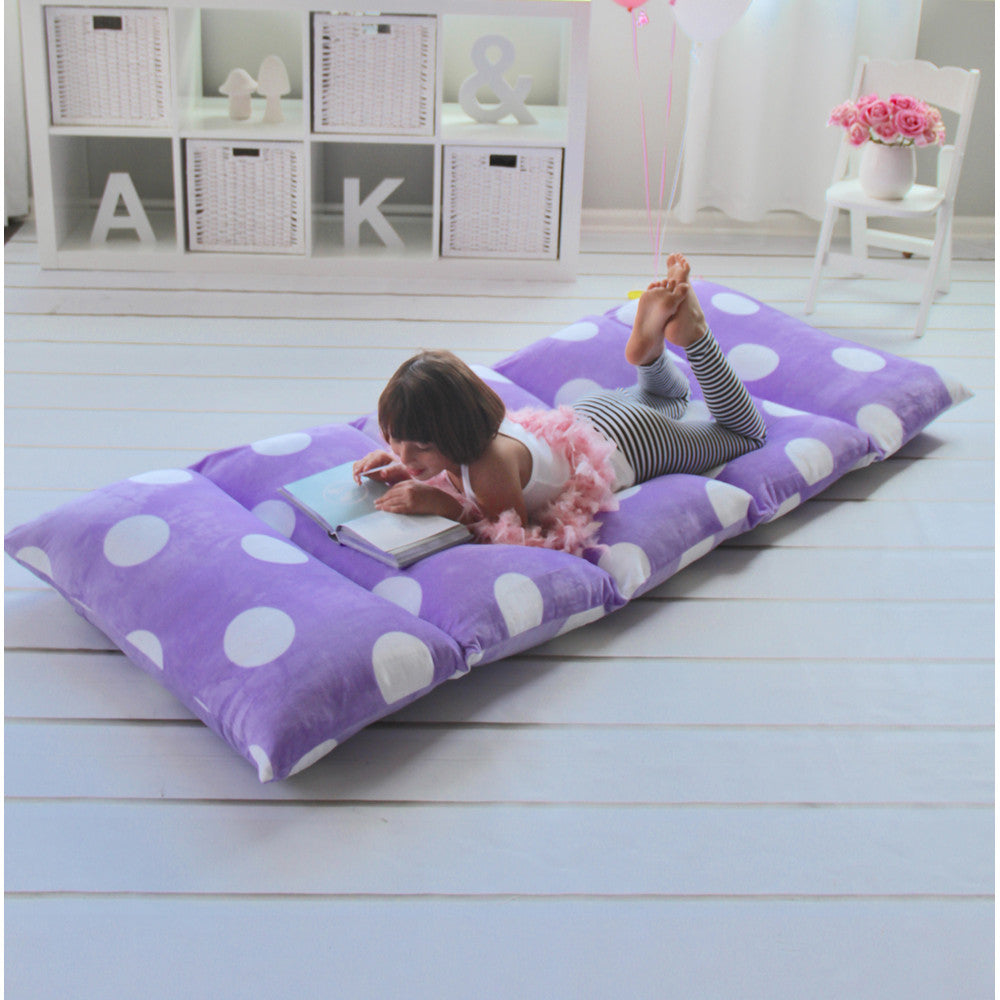 Purple Girls' Pillow Bed Cover