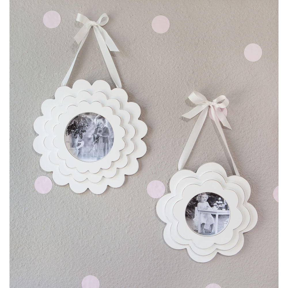 Flower Pedal Photo Frame Set