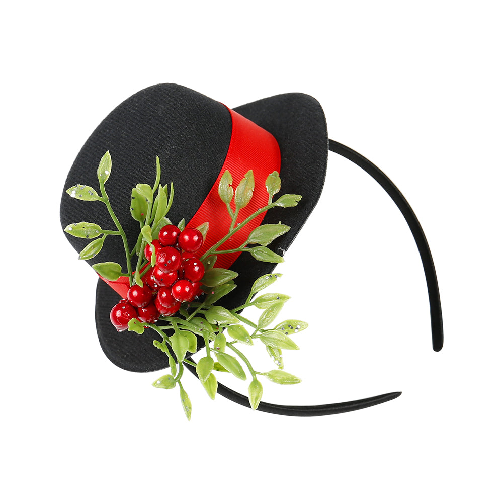Christmas Snowman Top hat Headband