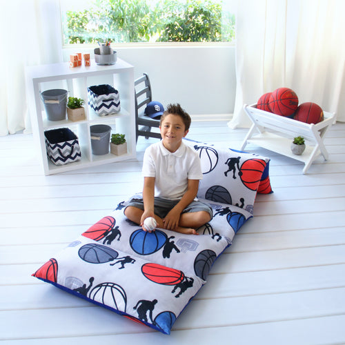 Basketball Pillow Bed Cover