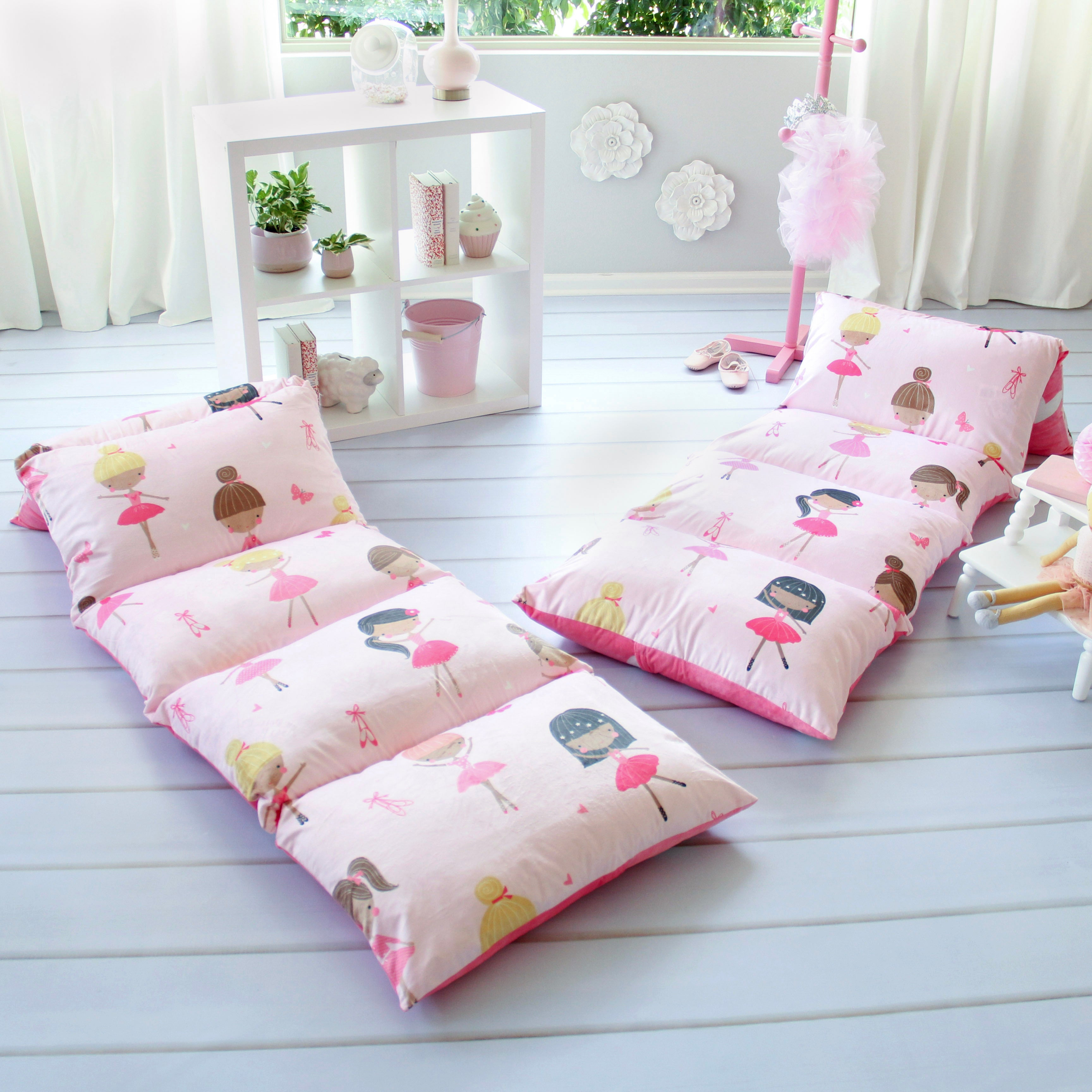 Ballerina Pillow Bed Cover