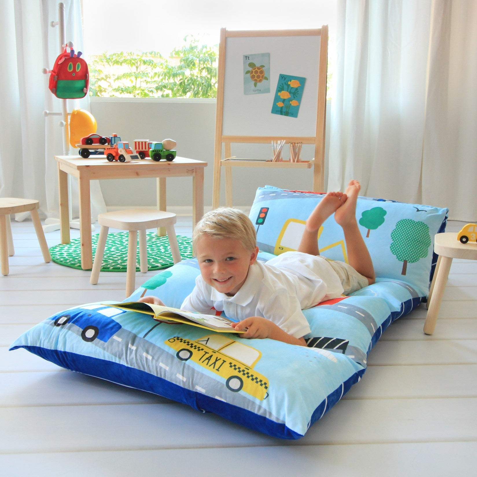 Transportation Pillow Bed Cover