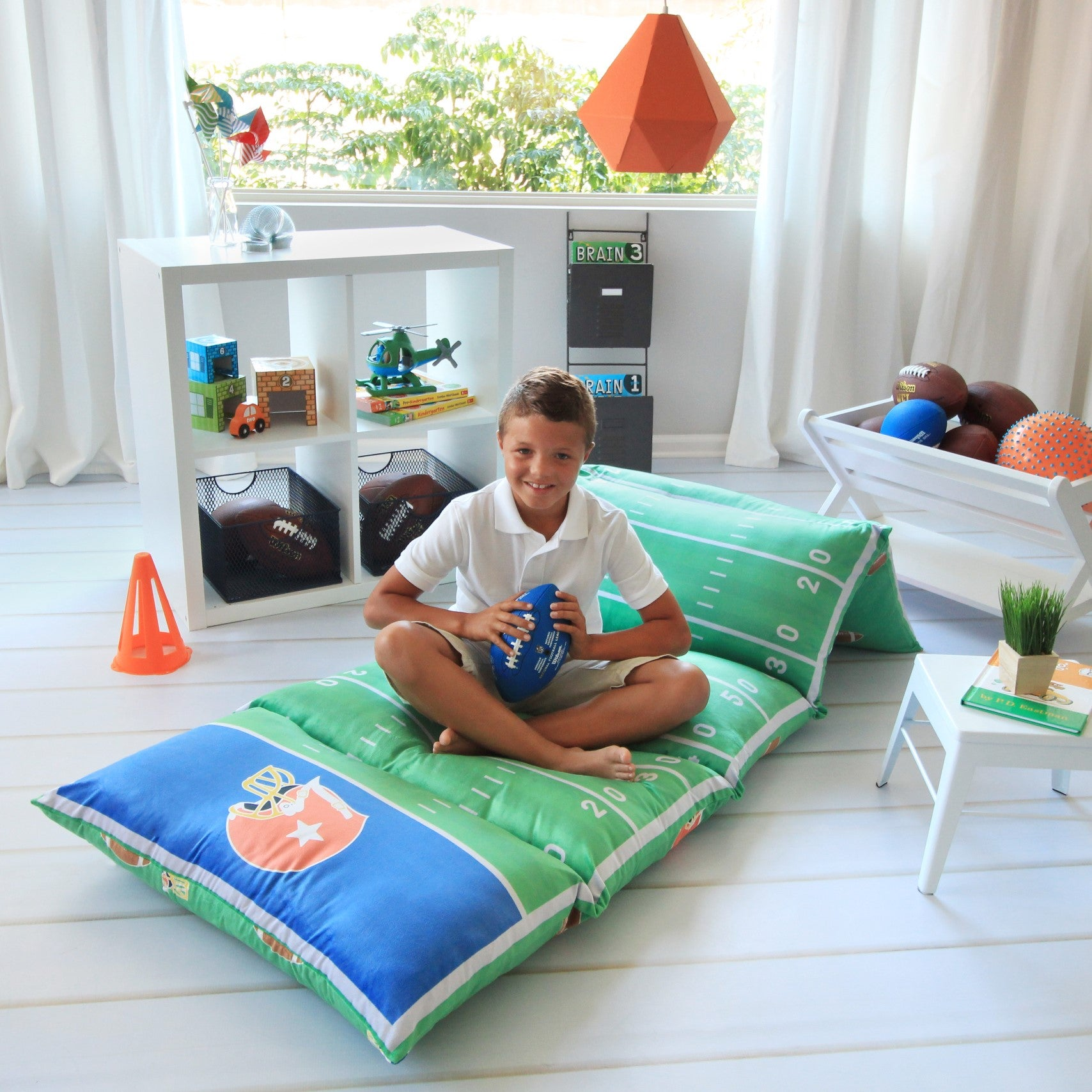Football Pillow Bed Cover