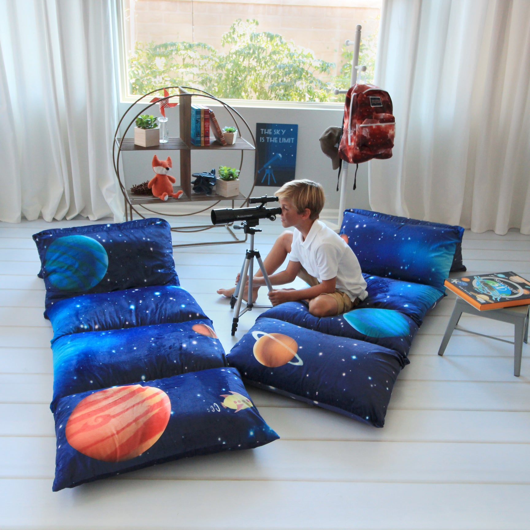 Galaxy Pillow Bed Cover