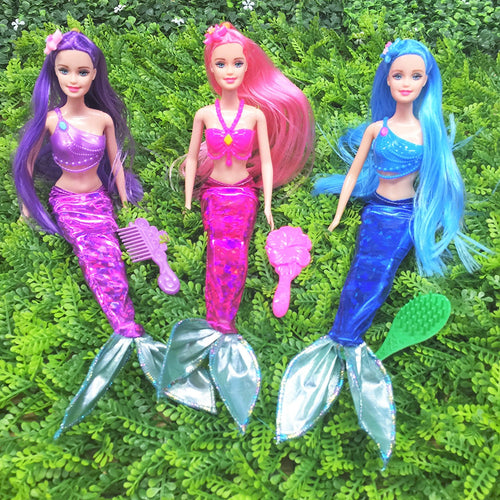 Mermaid Doll Play Set