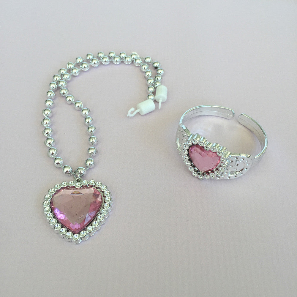 Pink Princess Jewelry Set