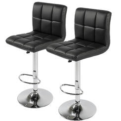 Adjustable Bar Stools (Set Of 2)