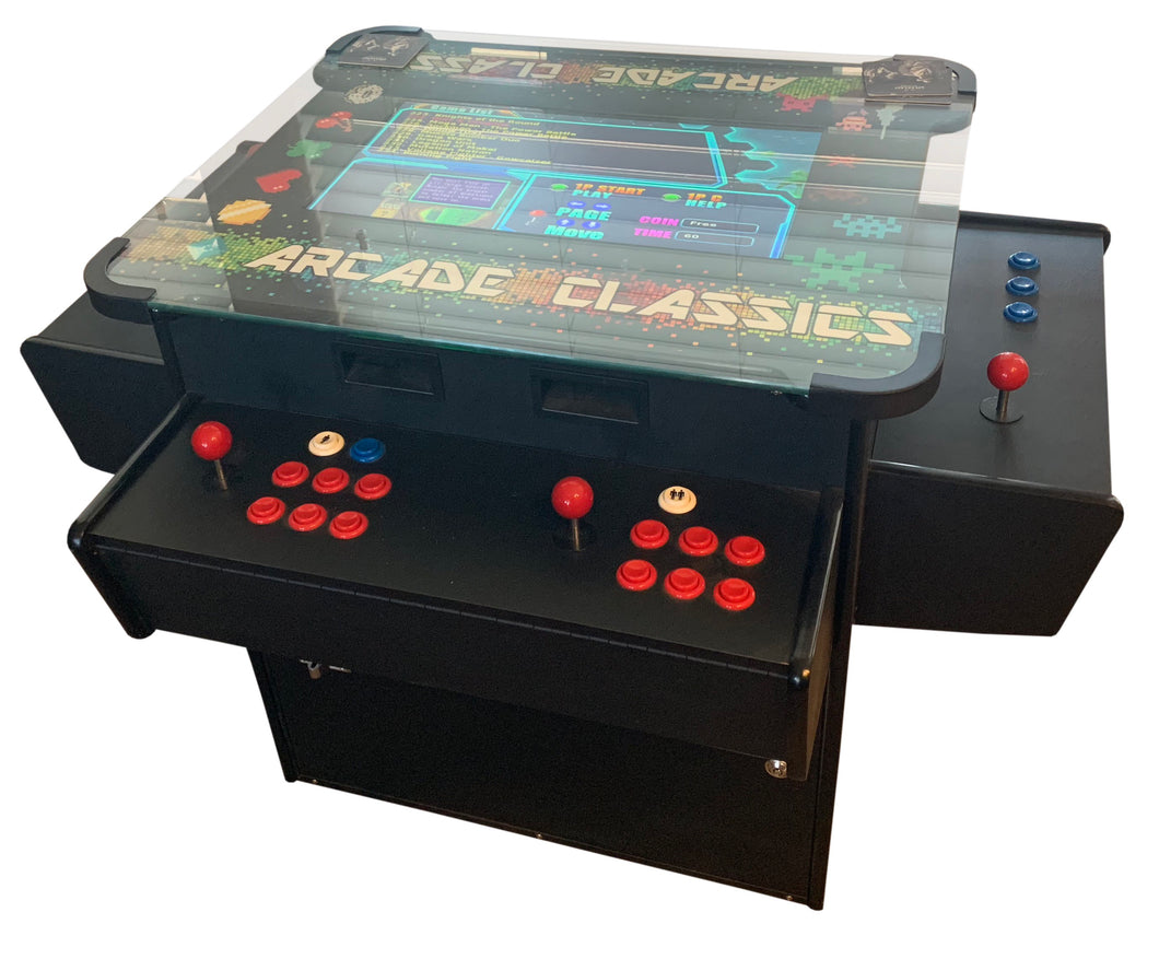 Cocktail Table Classic Arcade Machine 3 Sided