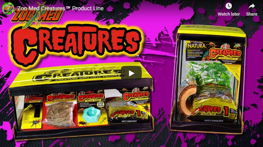 Zoo Med Creatures™ Product Line