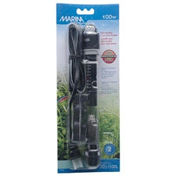 "Submersible Pre-Set Aquarium Heater, 100W, 22 cm (8.5"")"