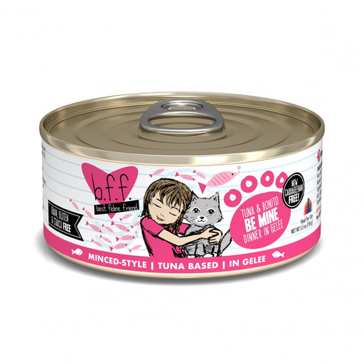 Weruva BFF Tuna and Bonito Be Mine in Gelee Canned Cat Food