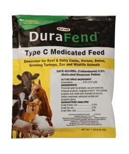 DuraFend Multi-Species Medicated Dewormer, 5 lb Pellets