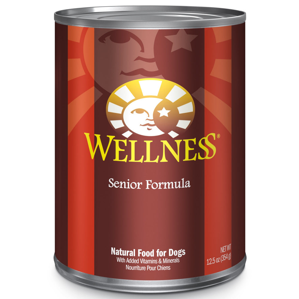 Wellness Complete Health Natural Senior Health Chicken and Sweet Potato Recipe Wet Canned Dog Food