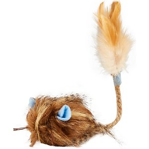Wild Wooly Long Tailed Mouse With Hypernip Cat Toy