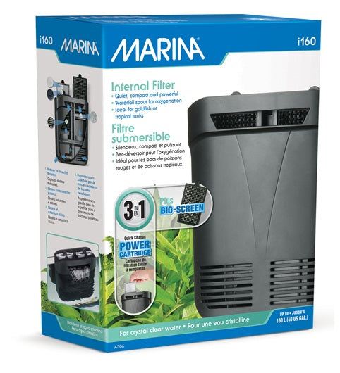 Marina I160 Internal Filter, 40 gal