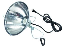 "10.5"" Brooder Reflector Lamp w/ Clamp"