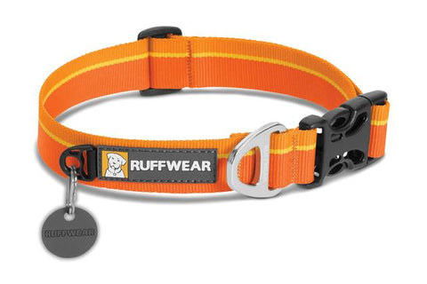Hoopie  ™ Collar with Soft Durable Webbing, Solid Colors