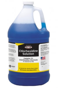 Chlorhexidine 2% Solution, 16 OZ & 1 GAL