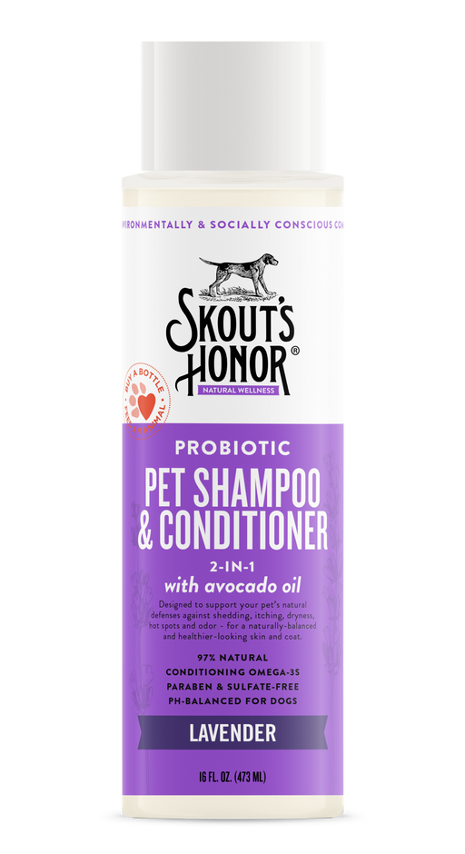 Probiotic Pet Shampoo & Conditioner, 2 in 1, Assorted, 16 fl oz
