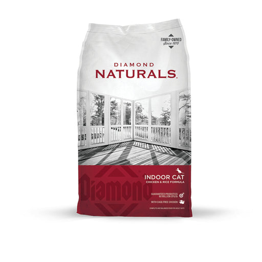 Diamond Naturals Chicken & Rice Indoor Cat Dry Food