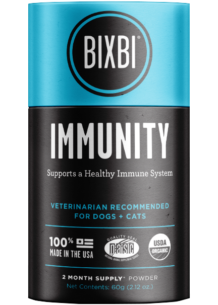 Bixbi Organic Pet Superfood IMMUNITY Premium Supplement For Dogs and Cats