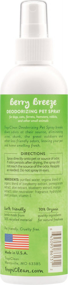 Tropiclean Berry Breeze Pet Spray