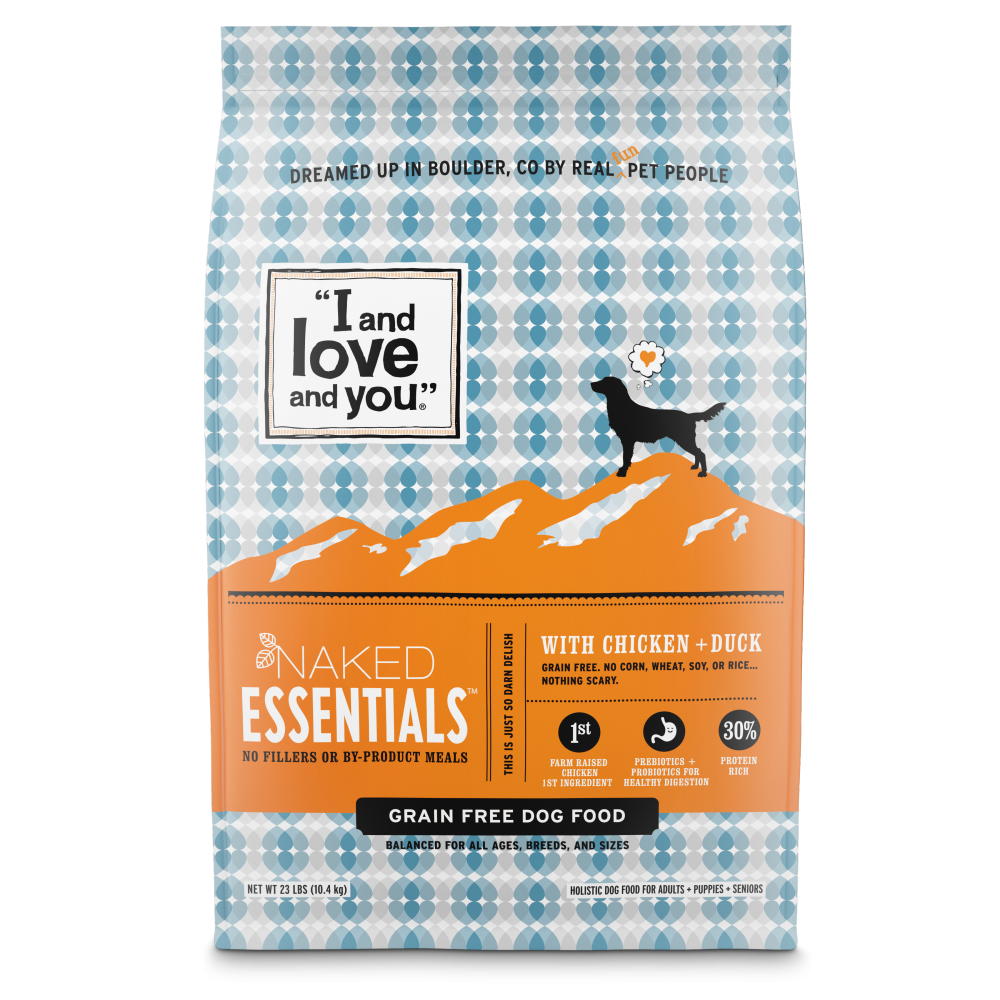 I and Love and You Grain Free Naked Essentials Chicken & Duck Dry Dog Food