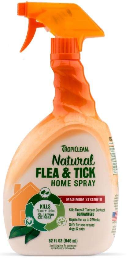 Tropiclean Flea and Tick Spray for Home